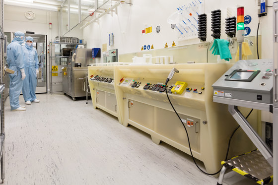 Reinräume der United Monolithic Semiconductors GmbH (UMS) Ulm di nora systems | Riferimenti di produttori