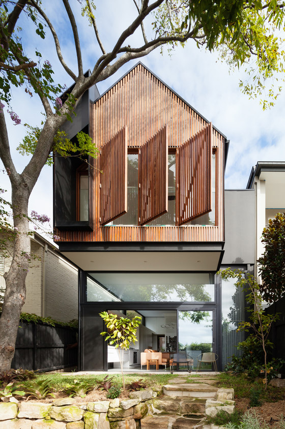 Dolls House by Day Bukh Architects | Semi-detached houses
