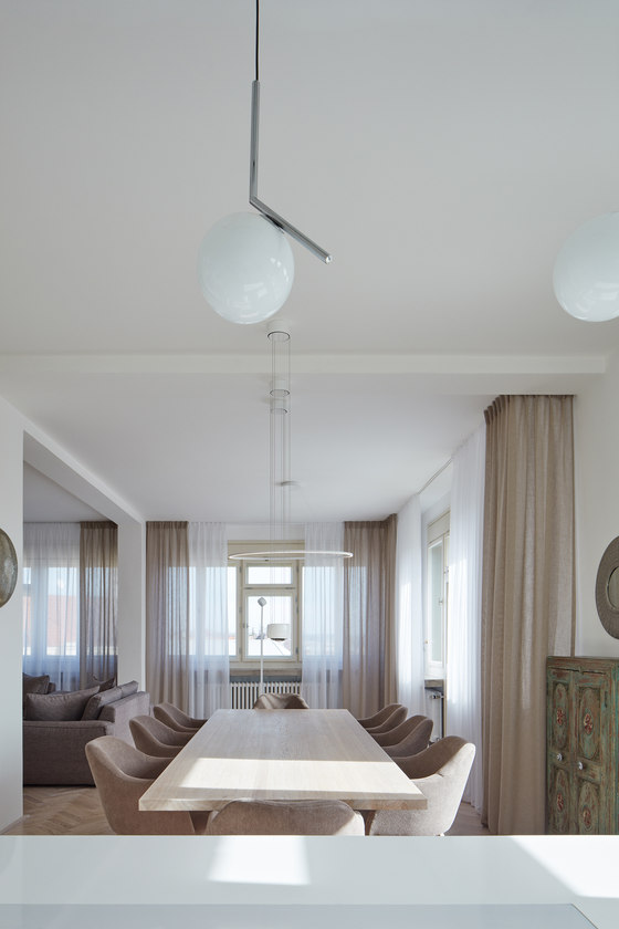 Apartment Letna by Objectum | Living space