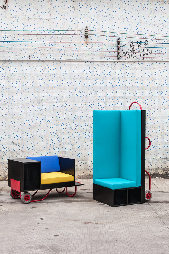 Push Pull furniture series de Lim + Lu | Prototipos