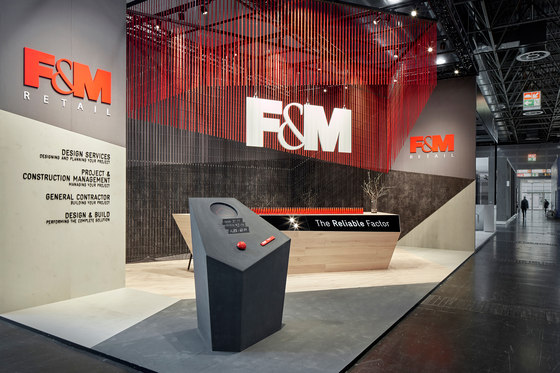 F&M Retail by Simple | Trade fair stands