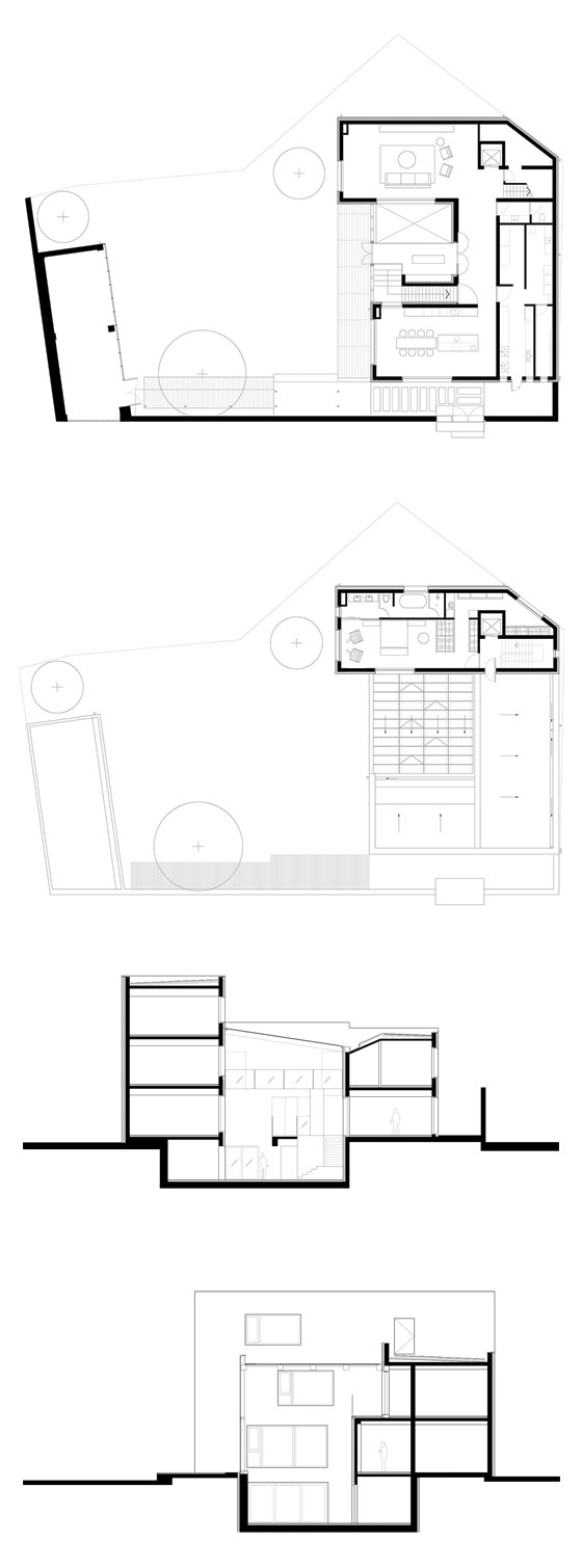 House W by Atelier About Architecture | Detached houses