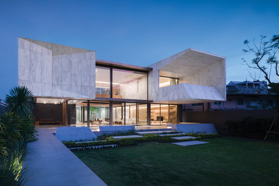 Marble House by Openbox Architects | Detached houses