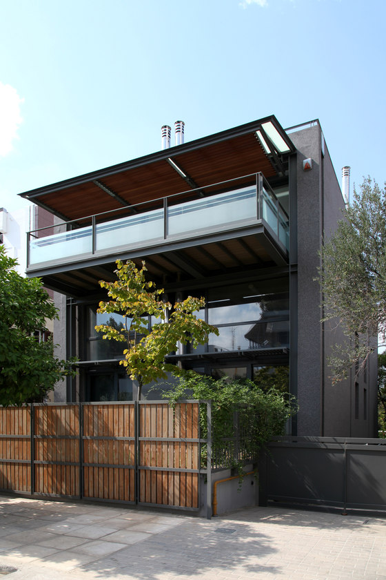 Residence In Chalandri by d_code Architects   Semi-detached houses