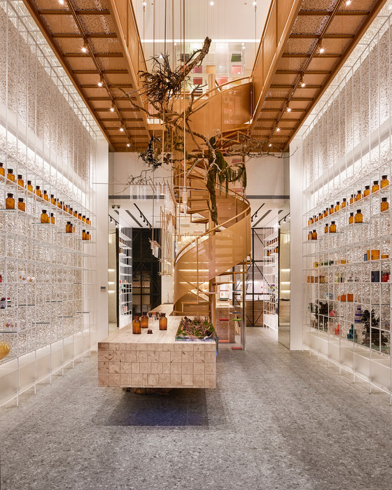 Molecure Pharmacy by Waterfrom Design | Shop interiors