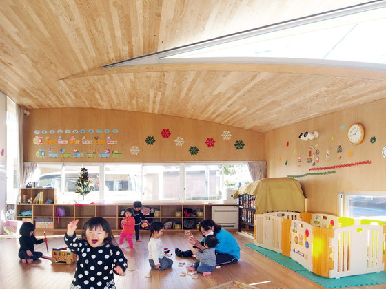 Toranoko Nursery by Takashige Yamashita Office | Kindergartens / day nurseries