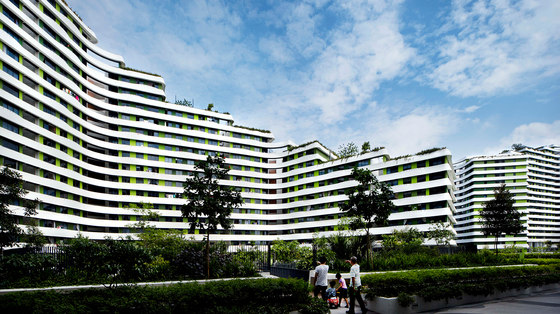 Punggol Waterway Terasses by G8A Architecture & Urban Planning | Apartment blocks