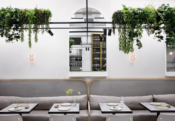Red Roaster by The Stella Collective | Café interiors
