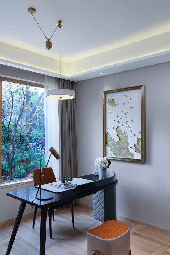 ChengduWanhuaLuxelakes Eco-City C2-2 Showroom AB Units by Qianxun  Decorative Art and Design