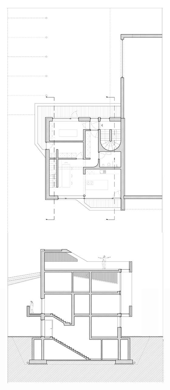 Casa Ploner de Messner Architects | Immeubles de bureaux