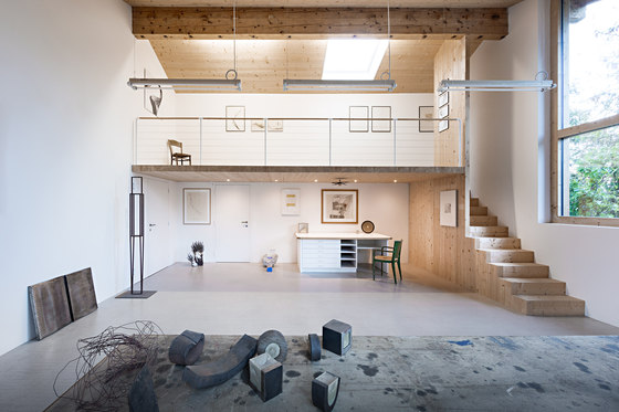 Workshop Renovation by Messner Architects | Detached houses