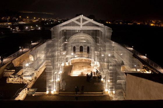 Basilica of Siponto by Edoardo Tresoldi   Installations