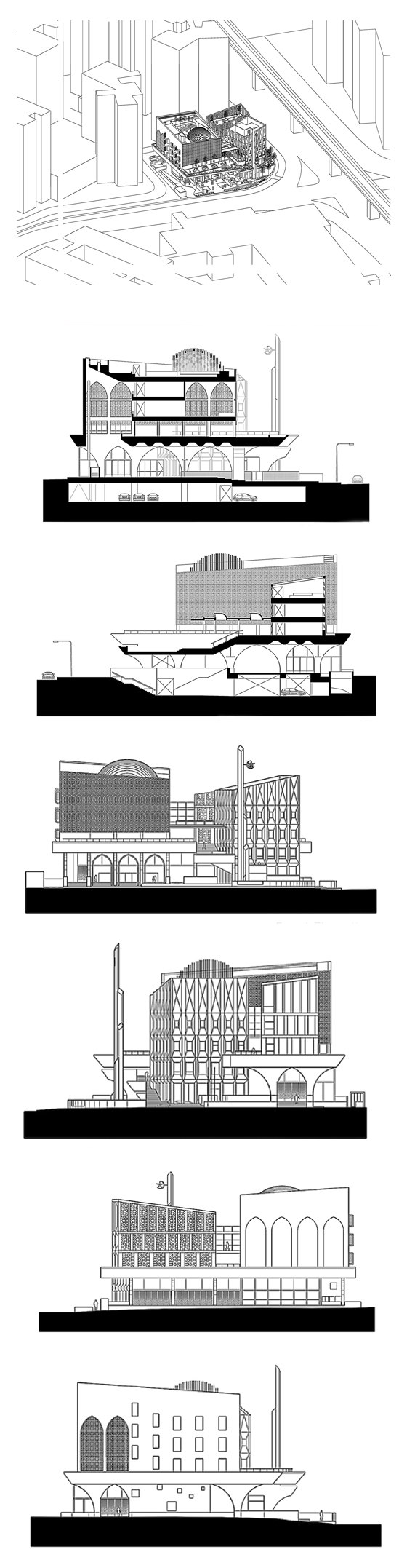 Al Islah Mosque by Formwerkz   Church architecture / community centres