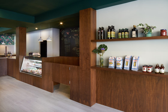 Wholesome Cuts Butcher Shop de Sergio Mannino Studio | Intérieurs de magasin