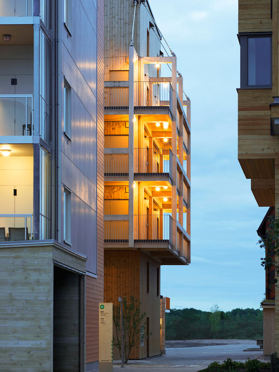 The Wooden Box House by Spridd | Apartment blocks