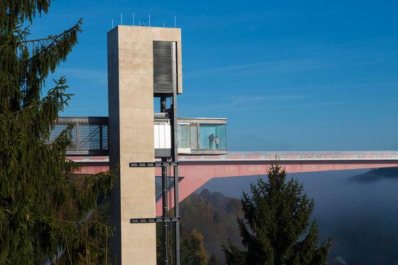 Pfaffenthal Lift von Steinmetzdemeyer Architectes Urbanistes | Brücken