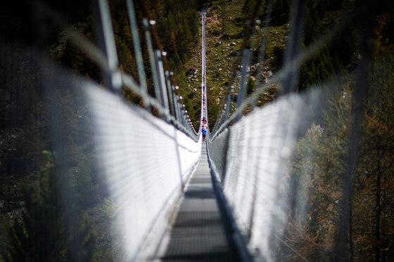 The Longest Suspension Bridge de Swissrope: Lauber AG | Ponts