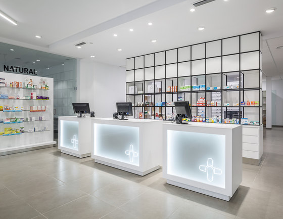 Farmacia Sud by GRID System APS | Manufacturer references