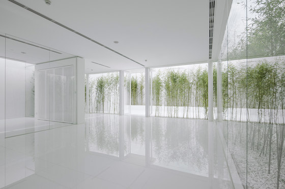 Bamboo Forest on the Roof by Hu Quanchun | Club interiors