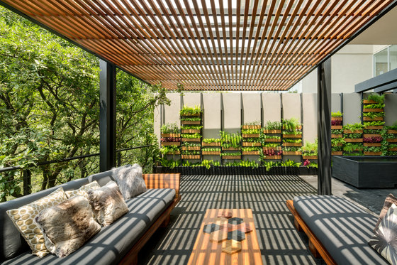 Villa Jardín by ASP Arquitectura Sergio Portillo | Living space
