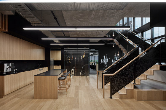 Yamaha music australia di studiomint spazi ufficio