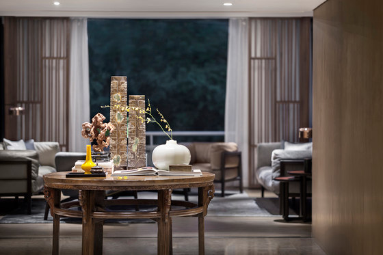 Shenzhen Oriental Garden Villa Chamber by Co-Direction Design   Living space