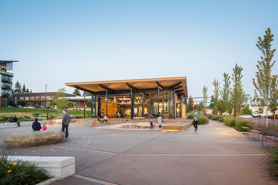 The Hangar at Kenmore Town Square by Graham Baba Architects | Office buildings