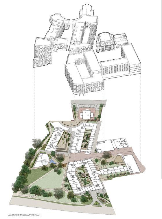 City Park West de Pollard Thomas Edwards | Immeubles