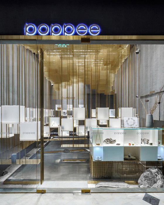Designers Brands Collection Store Under the Golden Cloud by Atelier