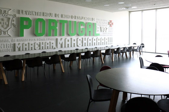 Cidade do Futebol by Branca Lisboa reference projects | Manufacturer references