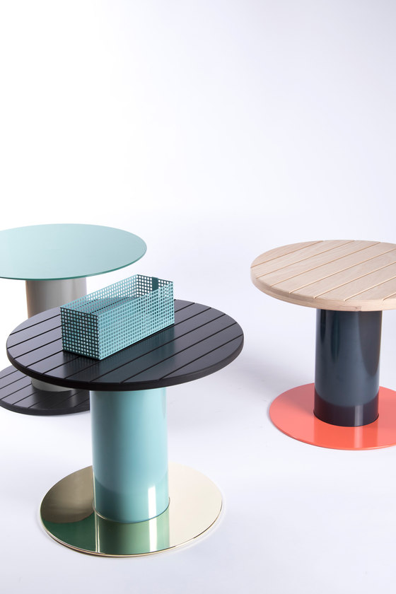 Reel Side Tables by David Derksen Design | Prototypes