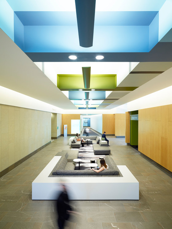 Key Center Lobby Reposition by SkB Architects | Office facilities