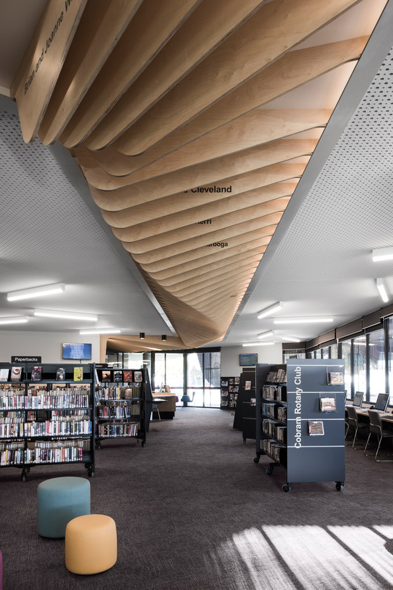 Cobram Library & Learning Centre by CohenLeigh Architects | Administration buildings
