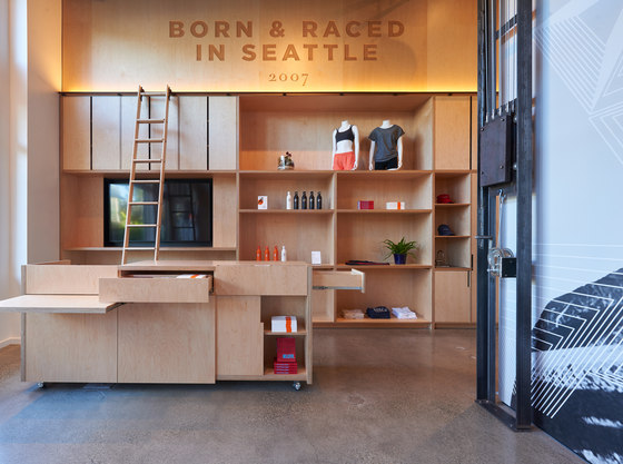Oiselle Flagship Store by goCstudio | Shop interiors