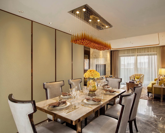 Qianhai East Coast Garden 1C, 7B, 7D Show Flat by Dickson Hung Organization Design Consultants | Living space