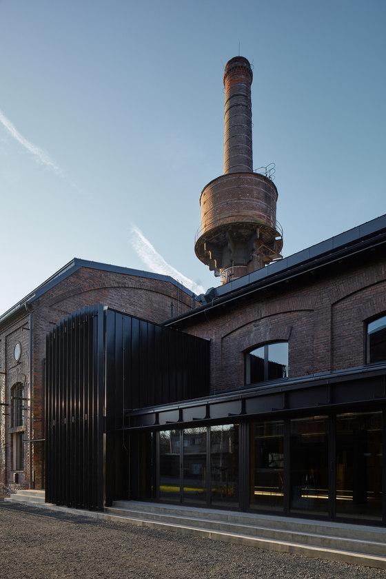 Boiler house Libčice nad Vltavou by Atelier Hoffman | Industrial buildings