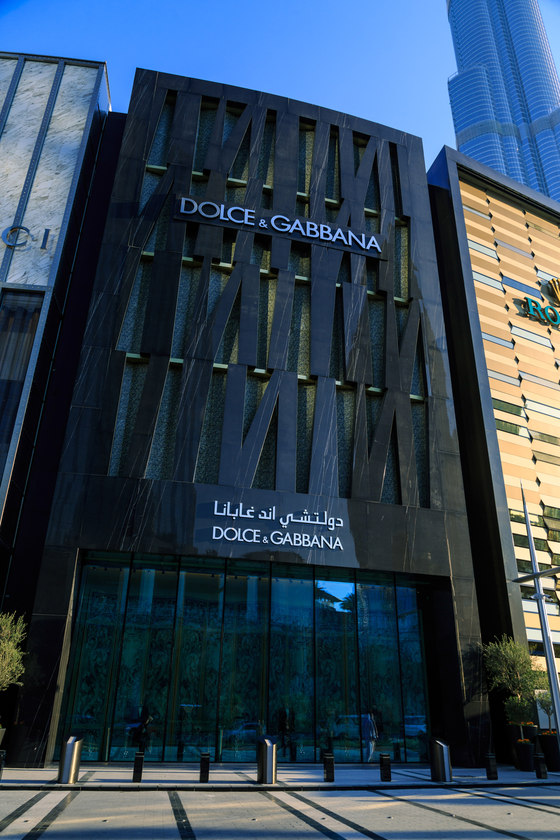 D&G Dubai by Gammastone reference projects | Manufacturer references