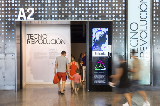 Pavilions in the Science Museum of Valencia by Murad García Estudio | Showrooms