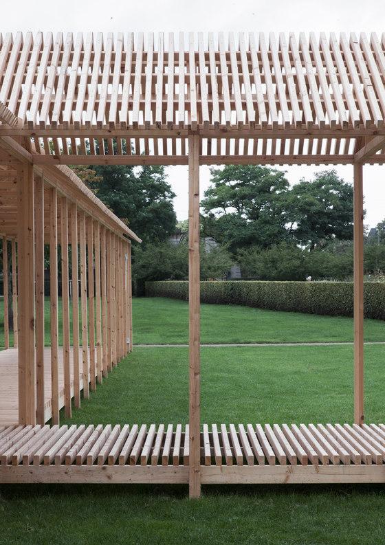 The King´s Garden Pavilion by Krupinski/Krupinska Arkitekter |