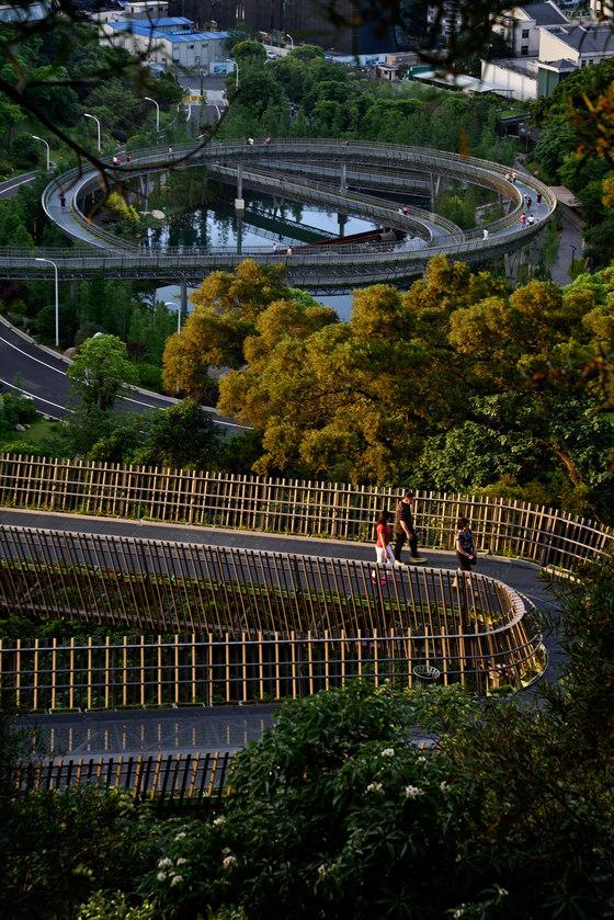 China Fuzhou Jin Niu Shan Trans-urban Connector von LOOK Architects | Brücken