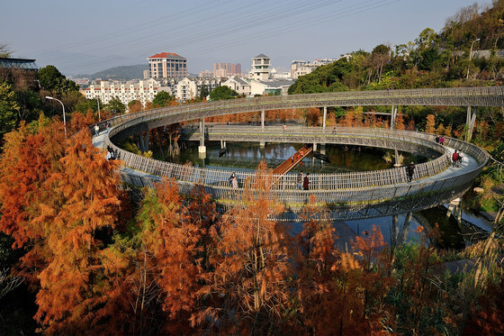 China Fuzhou Jin Niu Shan Trans-urban Connector by LOOK Architects | Bridges
