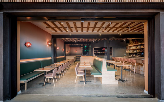 Gabi James by Blanchard Fuentes Design | Restaurant interiors