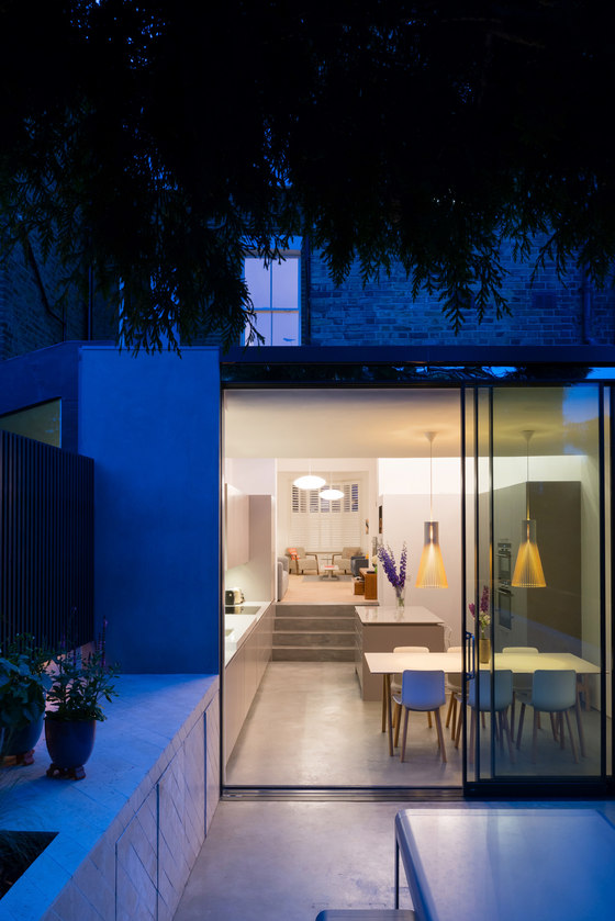 Highbury House Extension by Architecture for London | Semi-detached houses