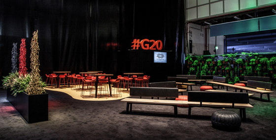 G20 Gipfel / G20 Summit by Janua reference  projects | Manufacturer references