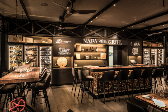 Napagrill Grill Restaurant by Janua reference  projects | Manufacturer references