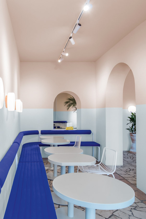 L.A. Poke von Ester Bruzkus Architekten | Restaurant-Interieurs