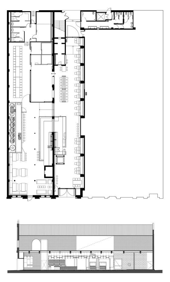 Headricks Lane by SP Studio | Restaurant interiors