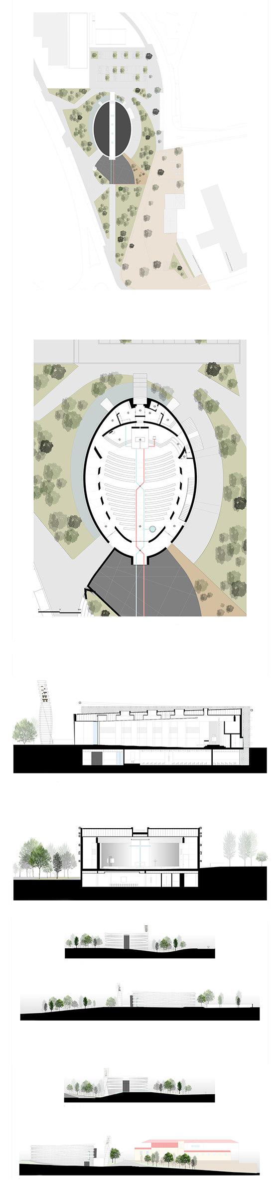 Church of S. Tiago de Antas by Hugo Correia | Church architecture / community centres