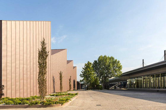 Santa Margherita Winery by Westway Architects | Industrial buildings