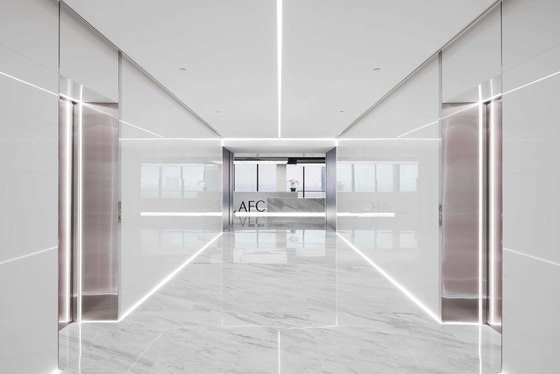 Asia Financial Tower by Spacemen   Office facilities